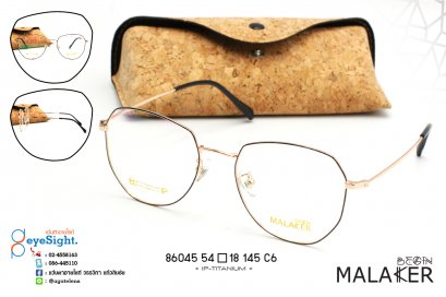 glasses MALAKER 86045 54[]18-145 C6